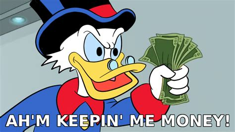 My Money ah m keepin me money shut up and take my money