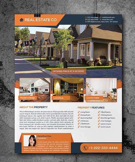 i will design profession real estate flyer