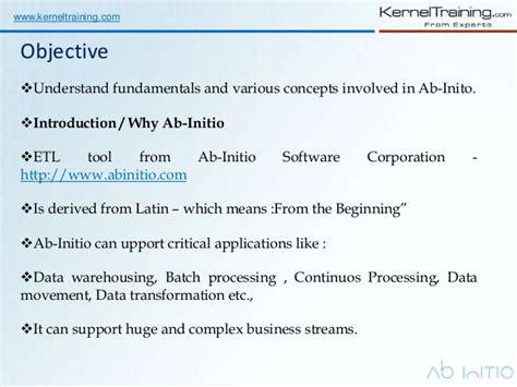 Ab Initio Etl by Ab Initio Etl Software Tool Introduction