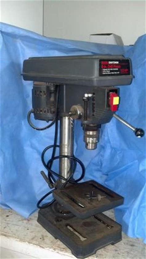 sears bench press sears craftsman 8 quot bench drill press nex tech classifieds