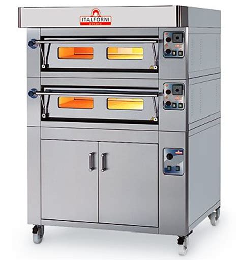 Oven Heavy Duty italforni es9 2 heavy duty deck electric pizza oven
