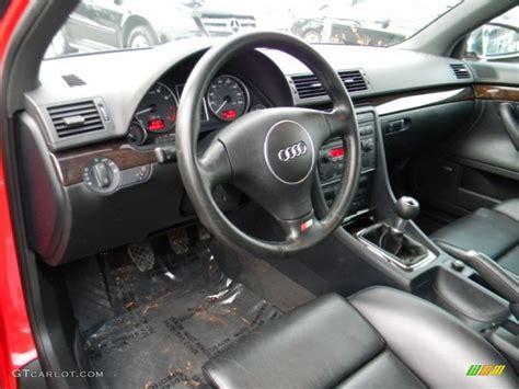 black interior 2004 audi s4 4 2 quattro sedan photo