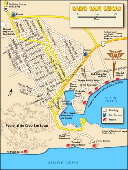 map of united states and cabo san lucas mexico cabo san lucas los cabos information