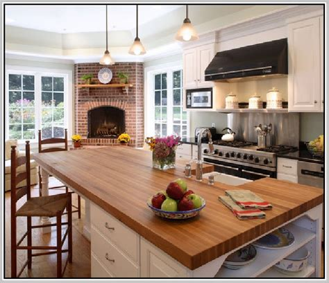 butcher block countertop pros and cons granite countertops pros and cons home design ideas