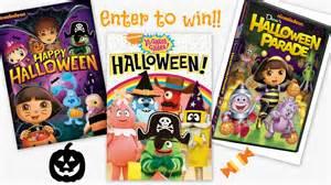 Nick jr halloween dvd s giveaway the denver housewife