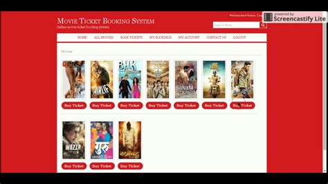 design online ticket booking system java and jsp project on online movie ticket booking system