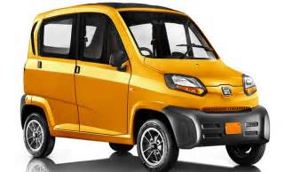 images of new car bajaj qute re60 small car price specs review pics