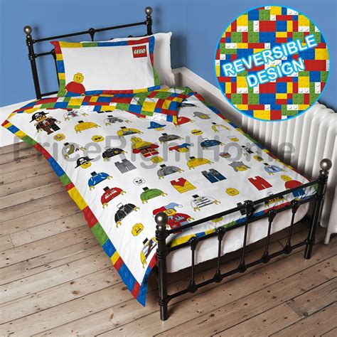 lego comforter lego classic minifigures single duvet cover set panel