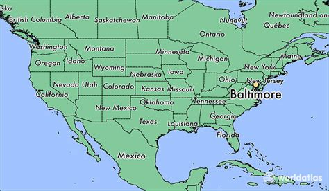 map us maryland where is baltimore md where is baltimore md located