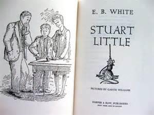 vintage childrens book stuart white illustrated