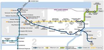 canada line stops map vancouver and transit oriented development greater auckland