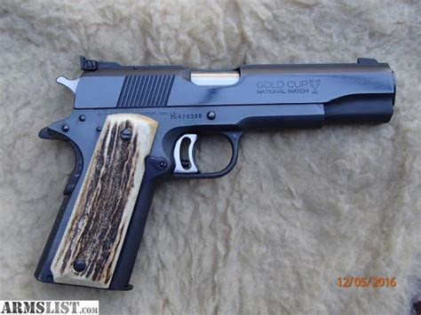 armslist for sale 1911 india sambar stag grips