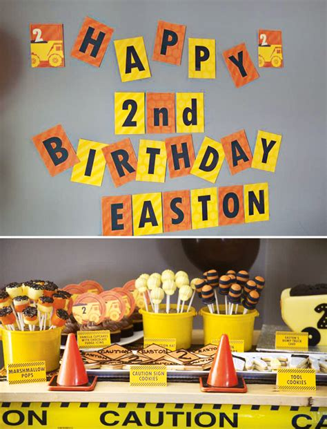 construction theme decorations construction boy birthday theme hostess with