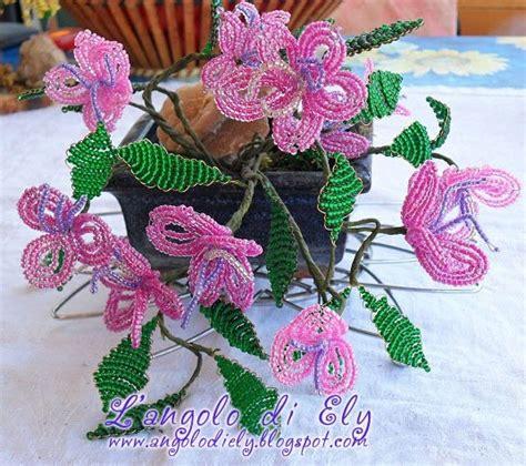 perline fiori l angolo di ely fiori di perline 2
