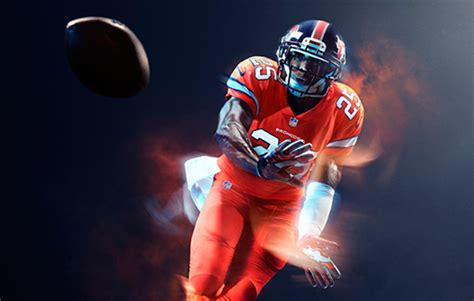 what color are the broncos nfl reveals color jersey for the broncos football