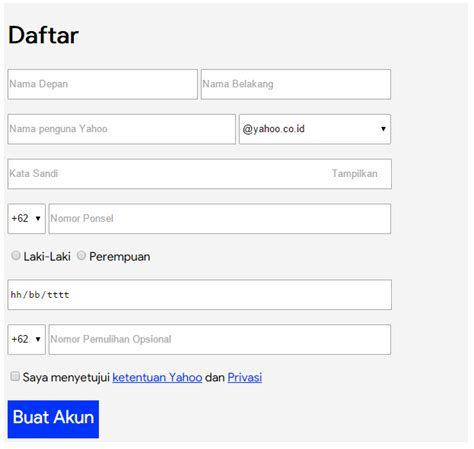 cara membuat form di html cara membuat form pekerjaan dan pendaftaran xncom