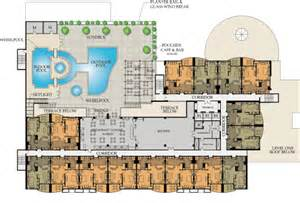 resort hotel floor plan diversified real estate concepts the platinum level 5