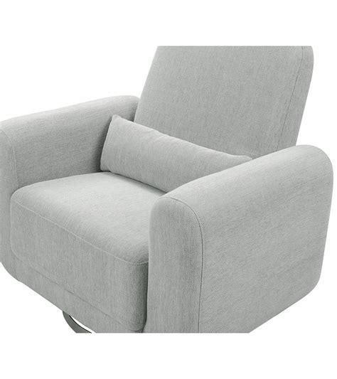 Wide Glider Chair by Babyletto Tuba Wide Glider Grey Weave