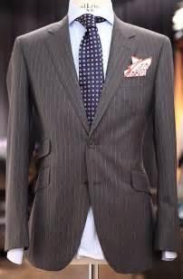 what color tie with purple shirt grey pinstripe suit light blue striped shirt purple tie
