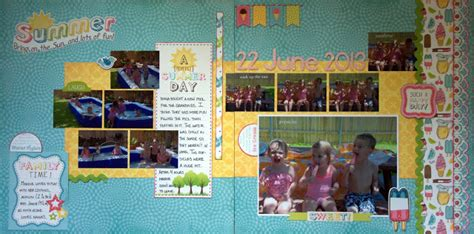 summer decorating challenge whats ur home story idolza scraplifter designs project life 365 summer guest