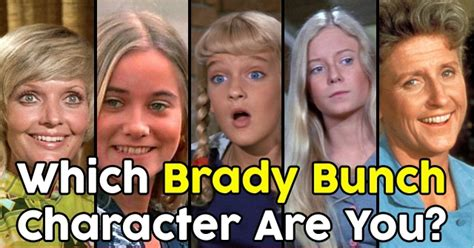 brady bunch name which brady bunch character are you quizdoo
