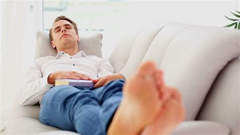 find a couch to sleep on denim shorts stock footage video shutterstock