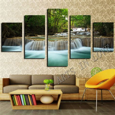Paintings For Home Decoration printed cotton spandex fabric picture more detailed