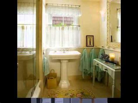 diy bathroom curtain ideas diy bathroom window curtain decorating ideas youtube