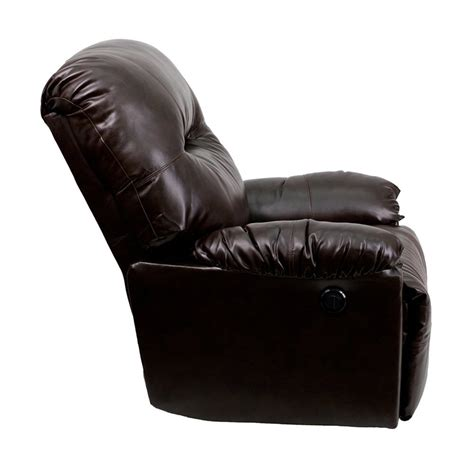modern leather recliner chairs flash furniture leather chaise powerful comfortable
