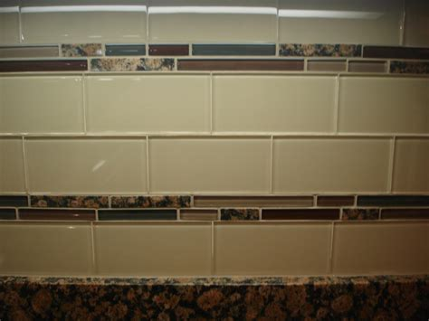 tile borders for kitchen backsplash glass 3x6 kitchen tile backsplash with two granite and