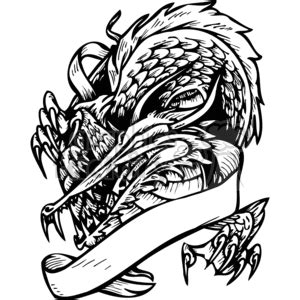 dayton dragons coloring pages royalty free dragons template 026 373642 clip art images