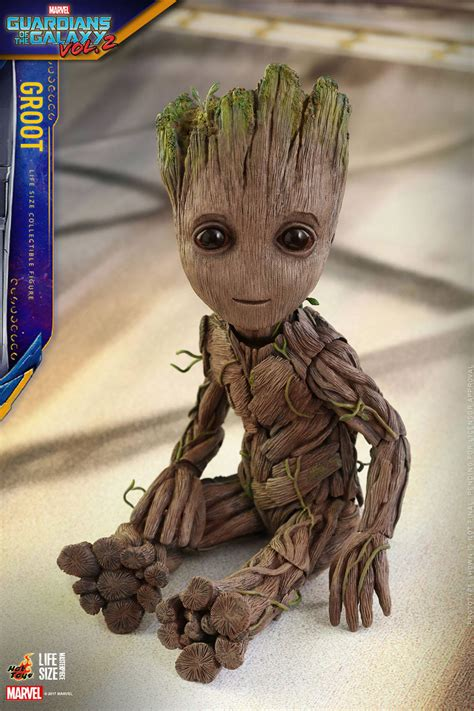 gotg vol  life size groot figure  awesomer
