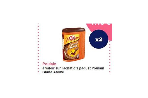 coupon reduction poulain