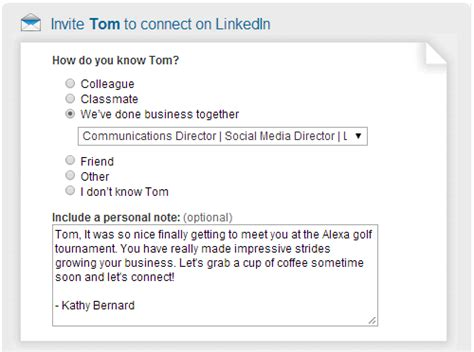 Wiserutips How To Invite People To Connect On Linkedin And What To Say Linkedin Message Templates