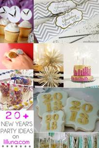 20 new years party ideas