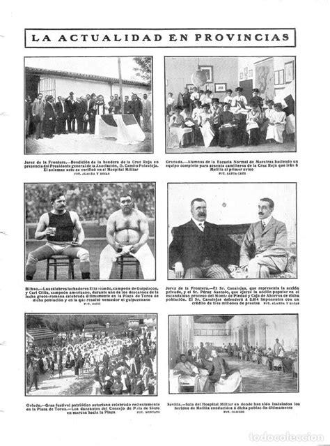 1909 hoja revista oviedo festival patriótico as - Comprar