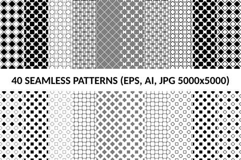 ai move pattern 40 seamless square patterns ai eps j design bundles