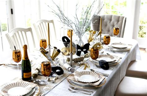 Dining Table Settings Decorations by Winter Table Setting Decorating