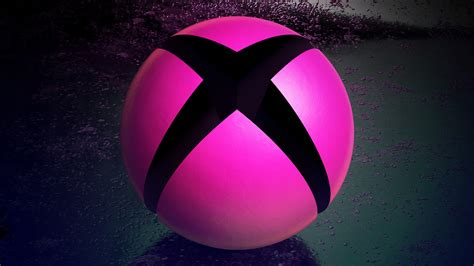 background themes xbox one x1bg giant xbox sphere pink custom martin crownover