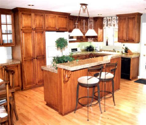 Kol Kitchen Bar by Oak Kitchen Cabinets Click On Photos To Enlarge