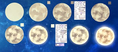paint tool sai tutorial circle moon easy tutorial by ryky on deviantart