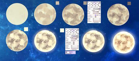 watercolor moon tutorial moon easy tutorial by ryky on deviantart