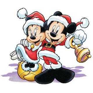 mickey and minnie christmas clipart images