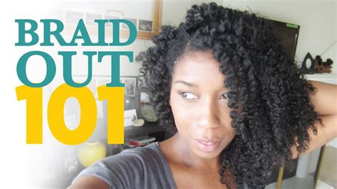 how to plait natural hair how to braid out method 101 quot natural hair quot natural black