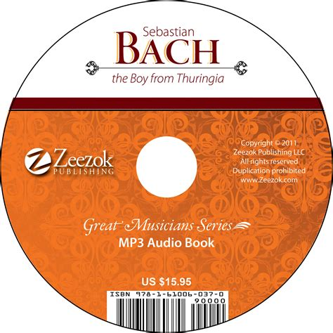 format of audio books sebastian bach the boy from thuringia audio book on cd