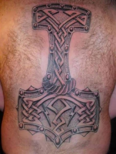 thors hammer tattoo 79 best images about viking tattoos on viking