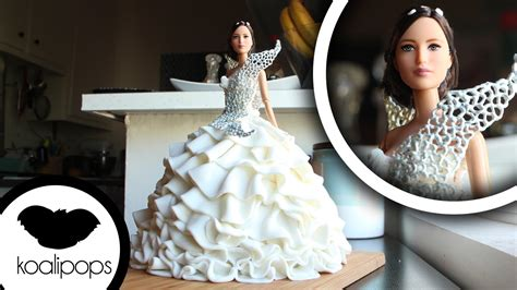 How to Make Katniss Everdeen's Wedding Dress   Become a Baking Rockstar   YouTube