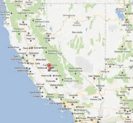 fresno california map