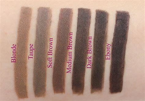 Pomade Color dipbrow pomade swatch imakeyousmile se