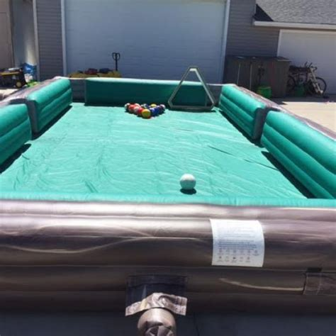 human pool table soccer billiards 17 215 30 carnivals for